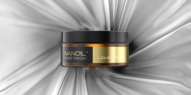 nanoil liquid silk maska na włosy