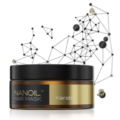 Najlepsza maska do włosów z keratyną - Nanoil